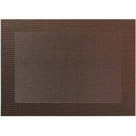 Tischset mit gewebten Rand 46x33cm