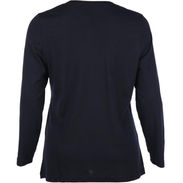 Große Größen Shirt mit langem Arm
