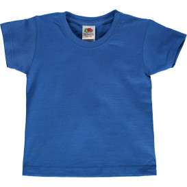 Kinder Basic T-Shirt mit kurzem Arm