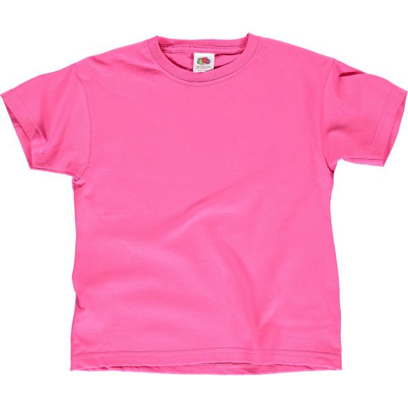 Kinder Basic T-Shirt mit kurzem Arm