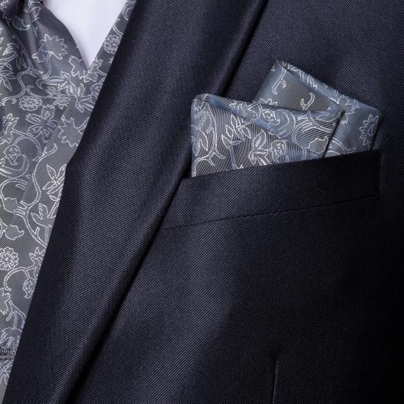 Herren Anzug mit elegantem Glanz 5tlg.