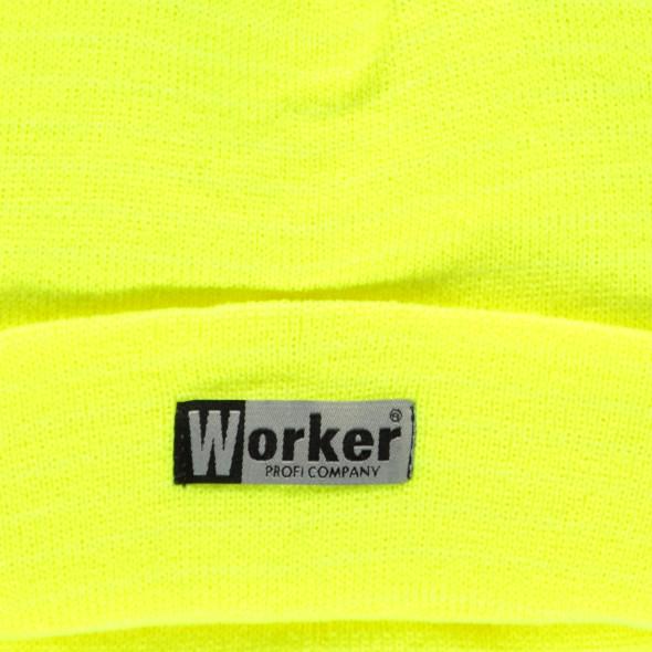 Herren-Arbeitsmütze in Strickoptik
