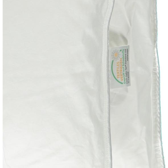 Kassettendecke mit 100% Daunen 155 x 220 cm