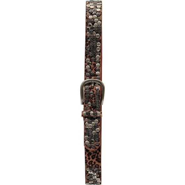 Damen Gürtel in Leo Optik