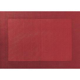 Tischset mit gewebtem Rand 46x33cm