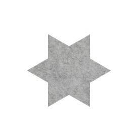 Filzuntersetzer in Sternform 15x15cm