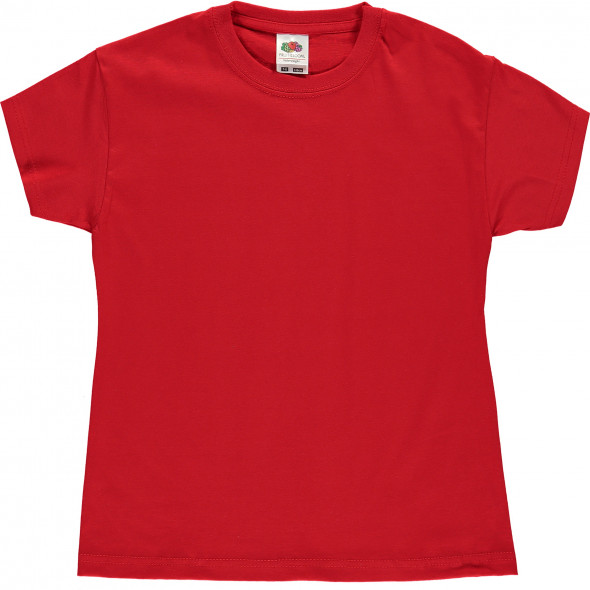 T-Shirt mit kurzem Arm unifarben