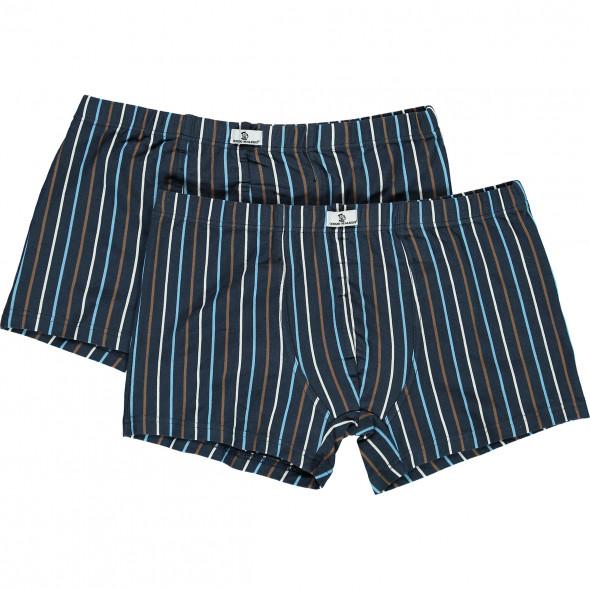 Herren Retro Pants gestreift im 2er Pack