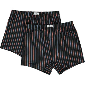 Herren Retro Shorts gestreift im 2er Pack