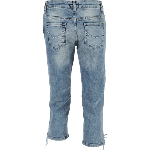 Damen Trachten Capri in Denim