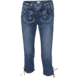 Damen Trachten Capri Jeans