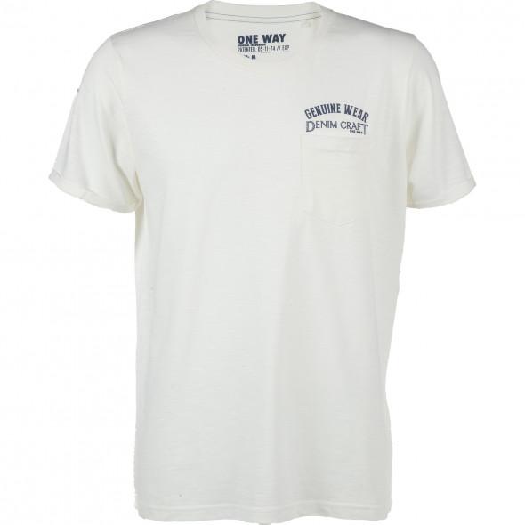 Herren T-Shirt mit kleiner Tasche auf der Brust