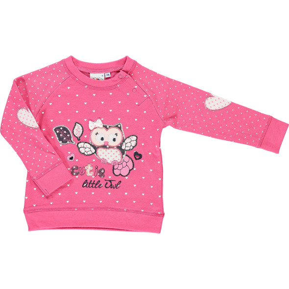Baby Sweatshirt mit Applikation
