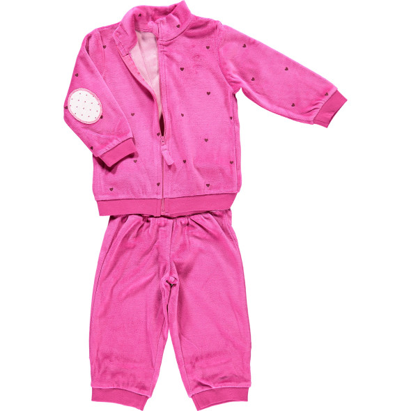 Baby Mädchen Set, bestehend aus Jacke und Hose