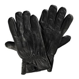 Herren Lederhandschuhe mit Ziernähten