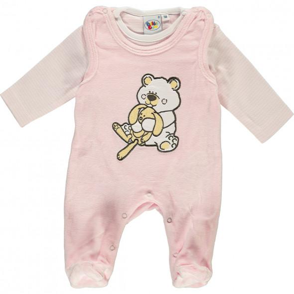 Baby 2er Set bestehend aus Body und Langarmshirt