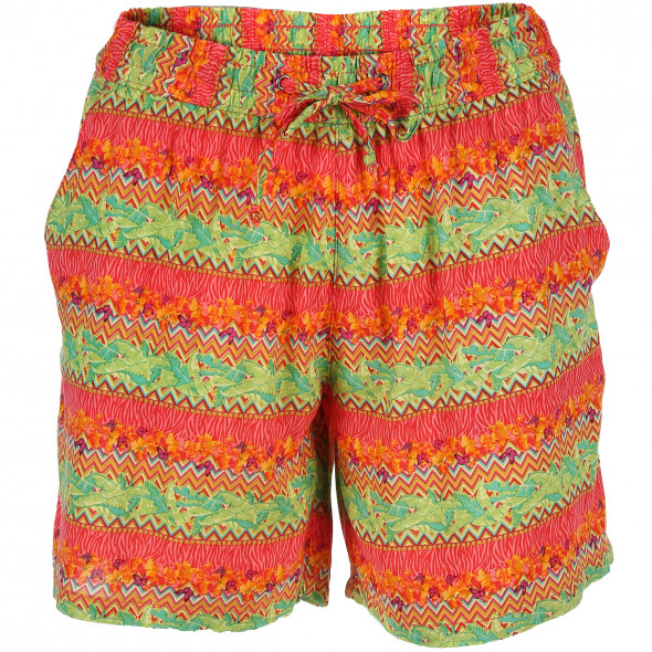Damen Shorts im Allover Print