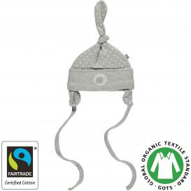 Baby Mütze mit Schneckenbändern