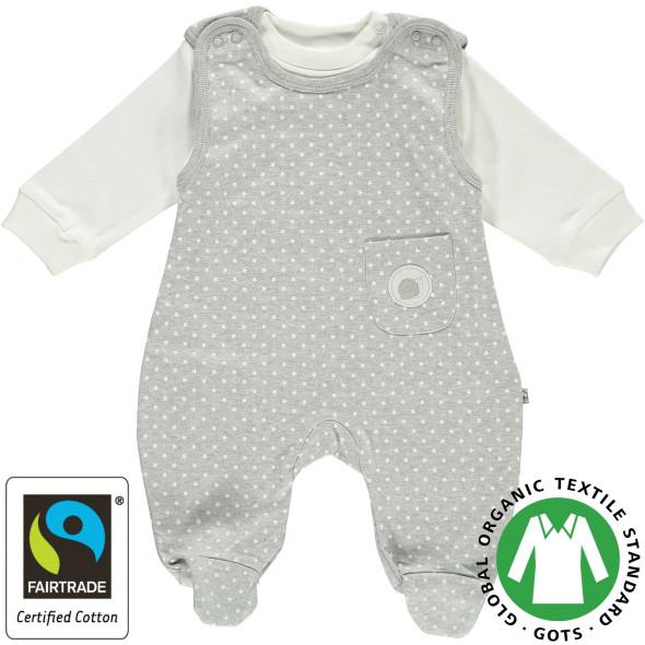 Baby Strampler mit Unterziehshirt