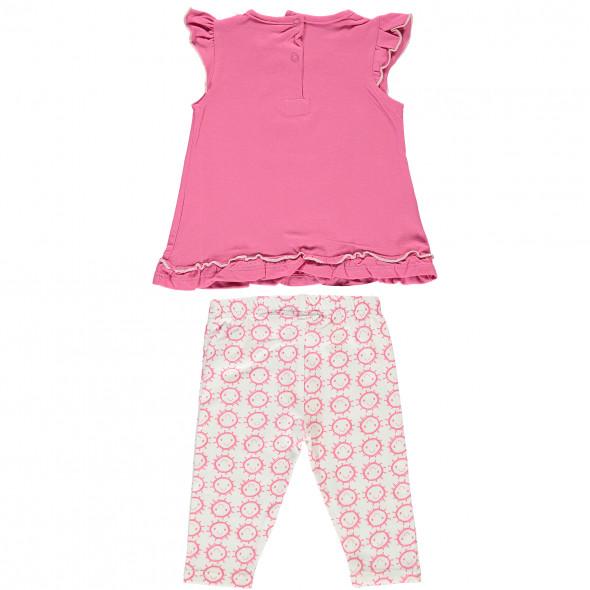 Baby Mädchen Set bestehend aus Kleidchen und Leggings