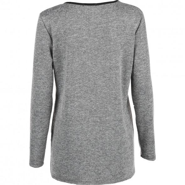 Damen Sweatshirt mit Pailletten