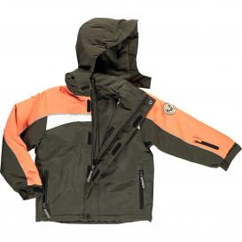 Kinder Ski Jacke mit Kapuze und Schneefang