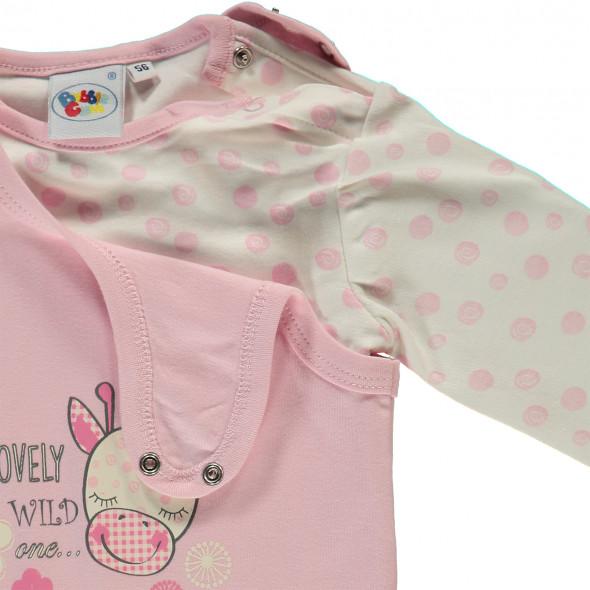 Baby Mädchen Set bestehend aus Strampler und Shirt