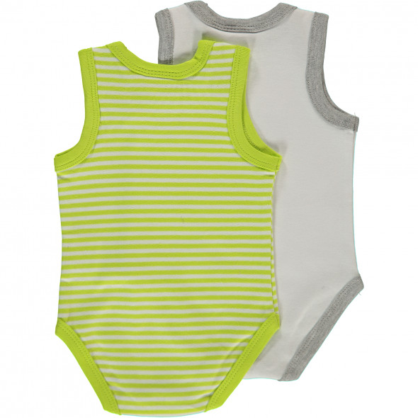 Baby 2er Body Pack ohne Arm