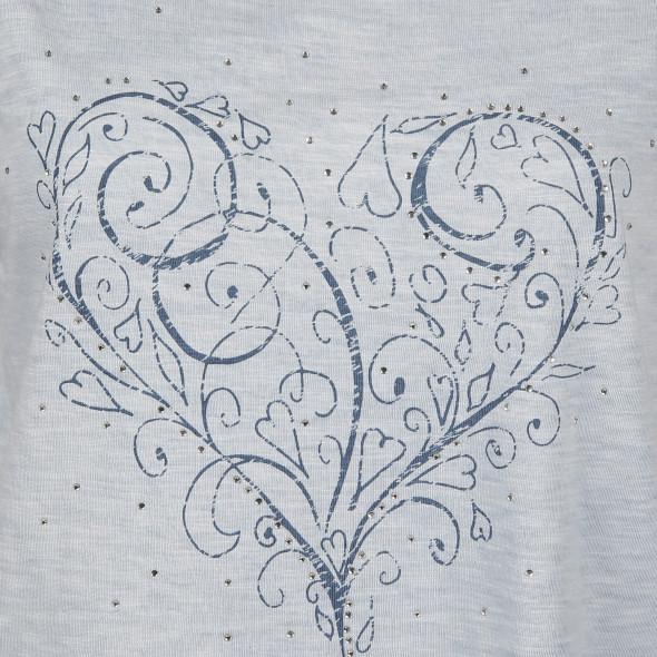 Damen Trachtenshirt mit Frontprint