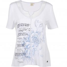 Damen Landhausshirt mit kurzem Arm