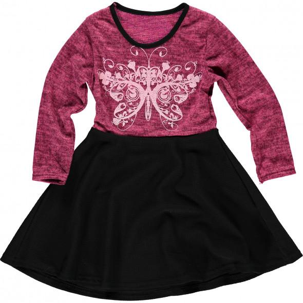 Mädchen Kleid mit Schmetterling