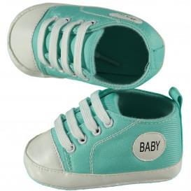 Baby Schuhe mit Schnürsenkeln