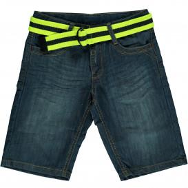Jungen Jeans Bermuda mit Gürtel