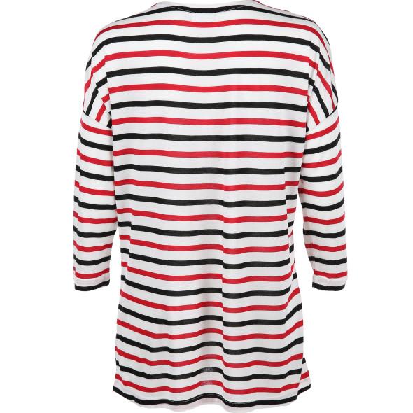 Damen Shirt in Ringeloptik