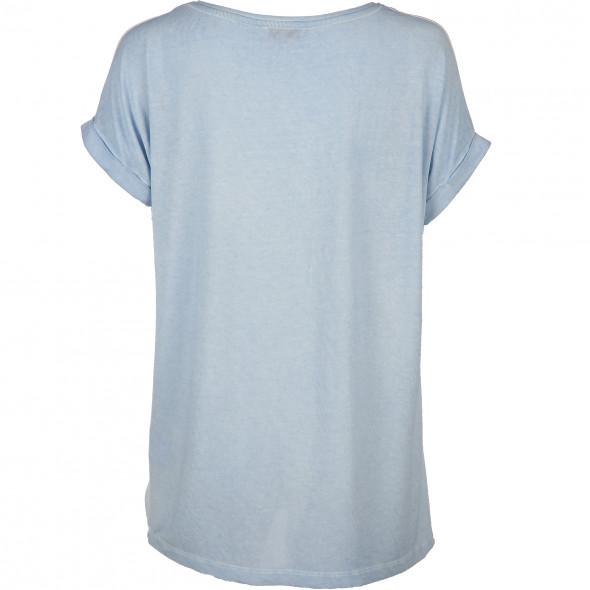 Damen Blusen Shirt mit Glitzerprint