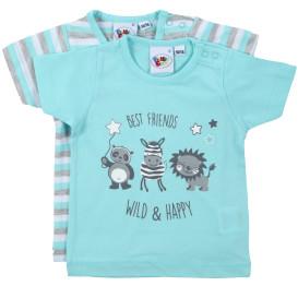 Baby Jungen Shirt im 2er Pack