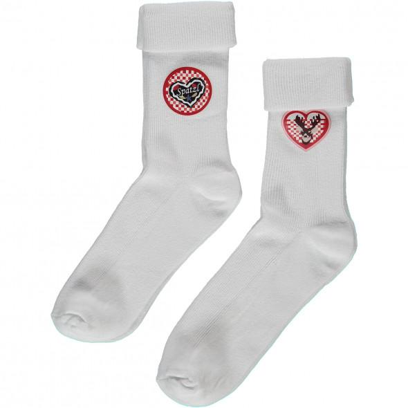 Mädchen Socken im Trachtenlook als 2er Pack