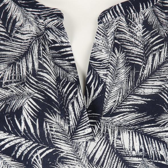 Damen Bluse mit Serafino Ausschnitt