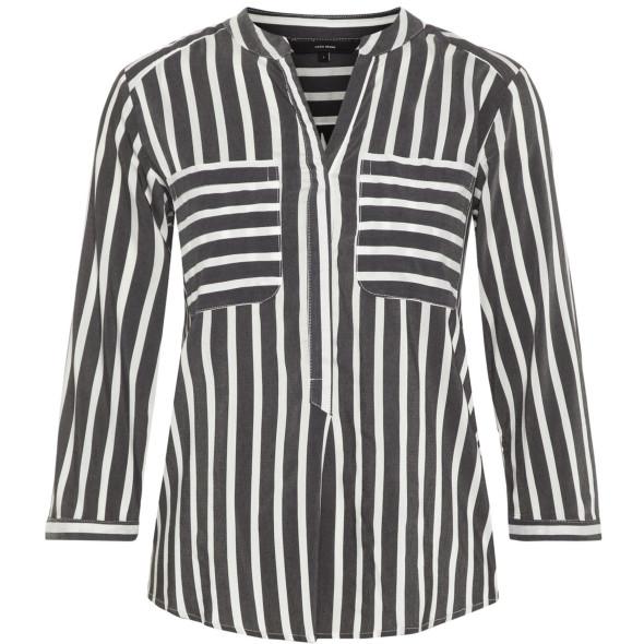 Vero Moda VMERIKA STRIPE 3/4 SH Bluse mit 3/4 Arm