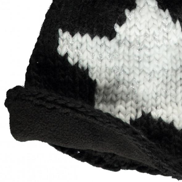 Damen Mütze mit Sternmotiv