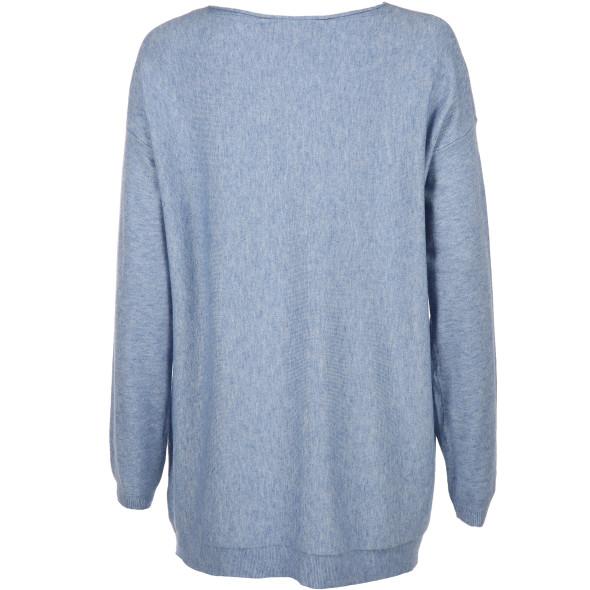 Damen Pullover aus flauschigem Feinstrick