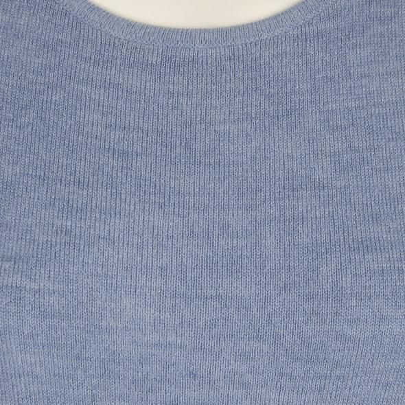 Damen Strickpullover mit kurzen Ärmeln
