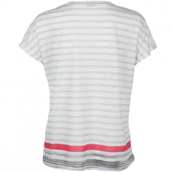 Damen Shirt in Ausbrenner Optik