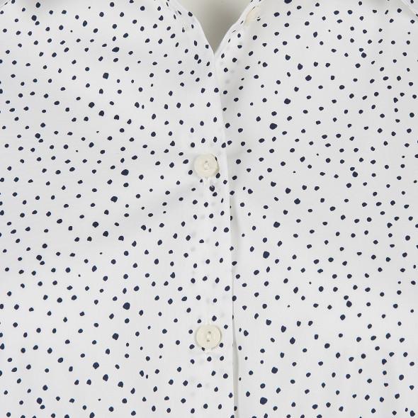 Damen Bluse mit Punkten