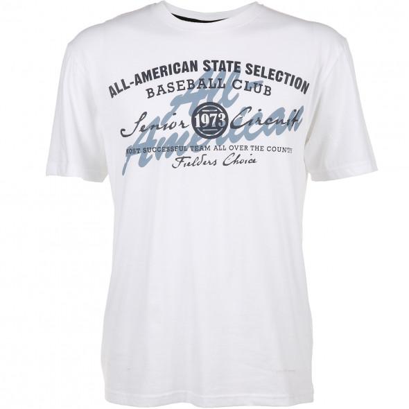 Herren T-Shirt mit Schriftaufdruck