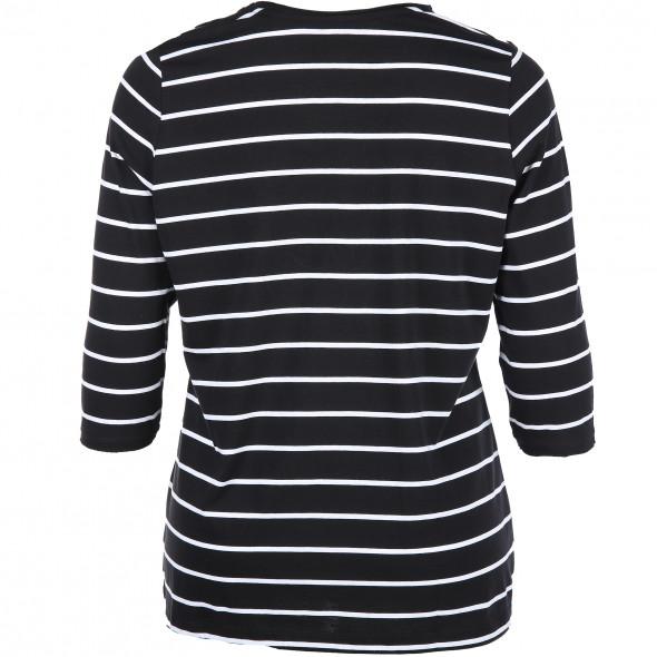 Große Größen Shirt mit Streifen