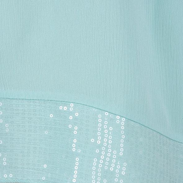 Große Größen Bluse mit Pailletten