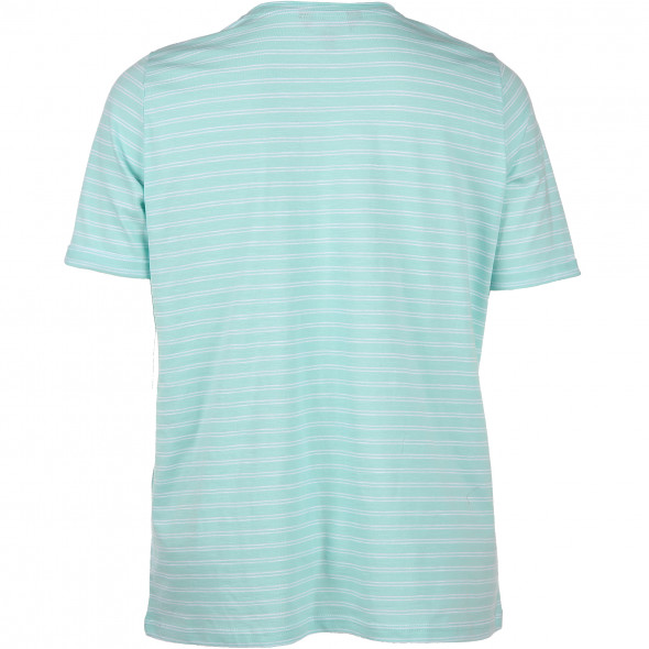 Große Größen T-Shirt mit offenen Kanten