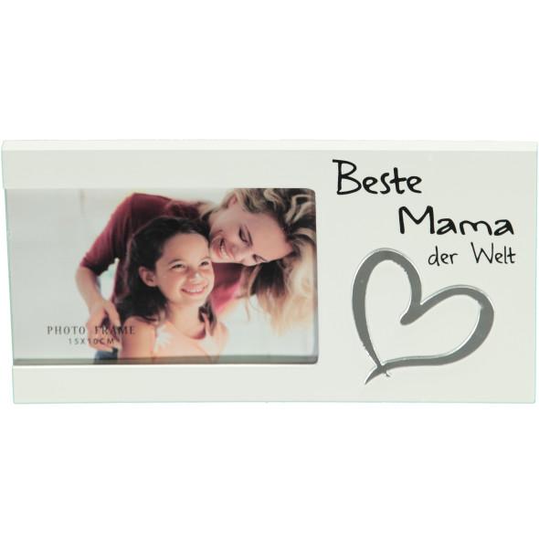 Bilderrrahmen- Beste Mama der Welt - 24x13x1cm