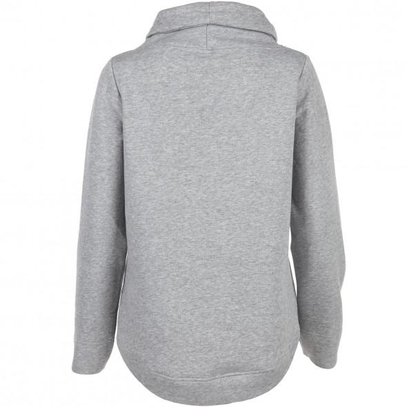 Damen Sweatshirt in meliertem Dessin